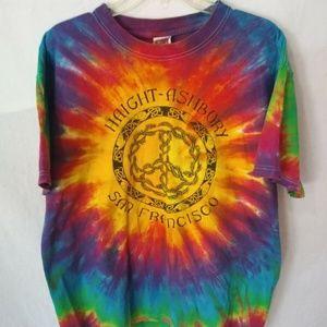 Vintage Tye Dye Haight-Ashbury San Francisco Shirt